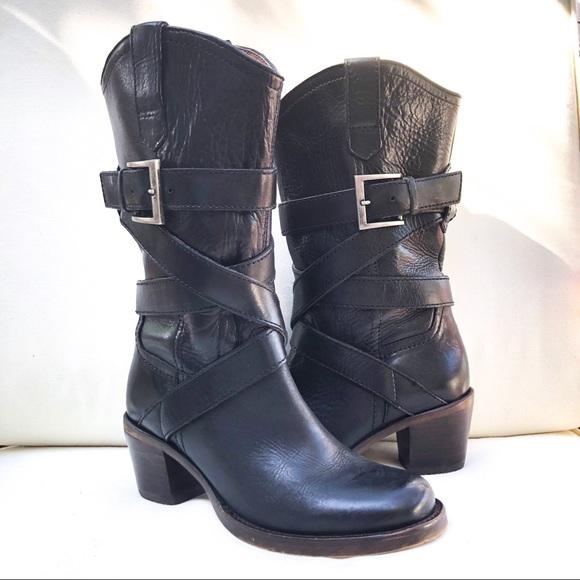 c167e37455e5c Steve Madden Shoes | Jeriko Moto Cowboy Boot 6 | Poshmark